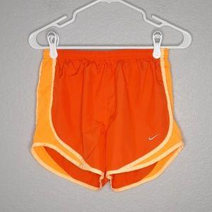 Nike Orange Drifit Tempo Shorts